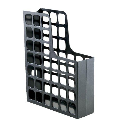 (Oxford DecoFile Plastic Magazine File, Black (24466))