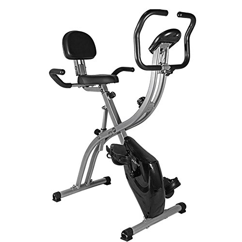 NEW Xspec Dual Recumbent Upright Indoor Cycling Foldable Exercise Bike Xspec
