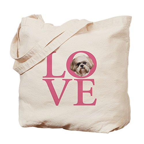 Design Standard By Tote Shih Tzu Love Bag Unique Multi Cafepress color TC0w1qx5w