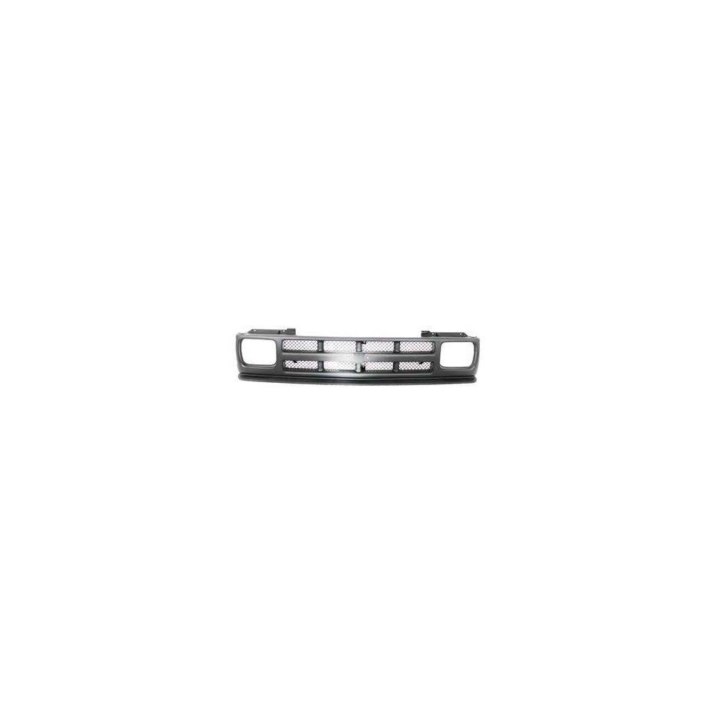 Grille for Chevrolet S10 Blazer 91-94//S10 Pickup 91-93 Textured Black