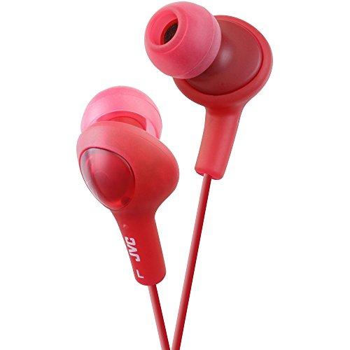 JVC HAFX5R Gumy Plus Inner Ear Headphones (Red) (Jvc Ipod Cord)