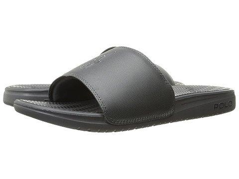 ローブ爆発物休憩(ポロラルフローレン) Polo Ralph Lauren メンズサンダル?靴 Rodwell Grey 9 27.5cm M [並行輸入品]