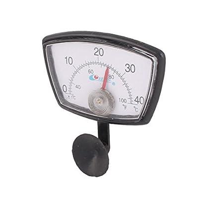 DealMux Plastic submersível Fish Tank Pond Analog termômetro medidor de medidor de temperatura