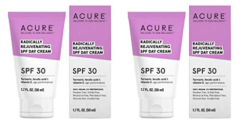 Acure Organics Radically Rejuvenating SPF 30 Day Cream  With