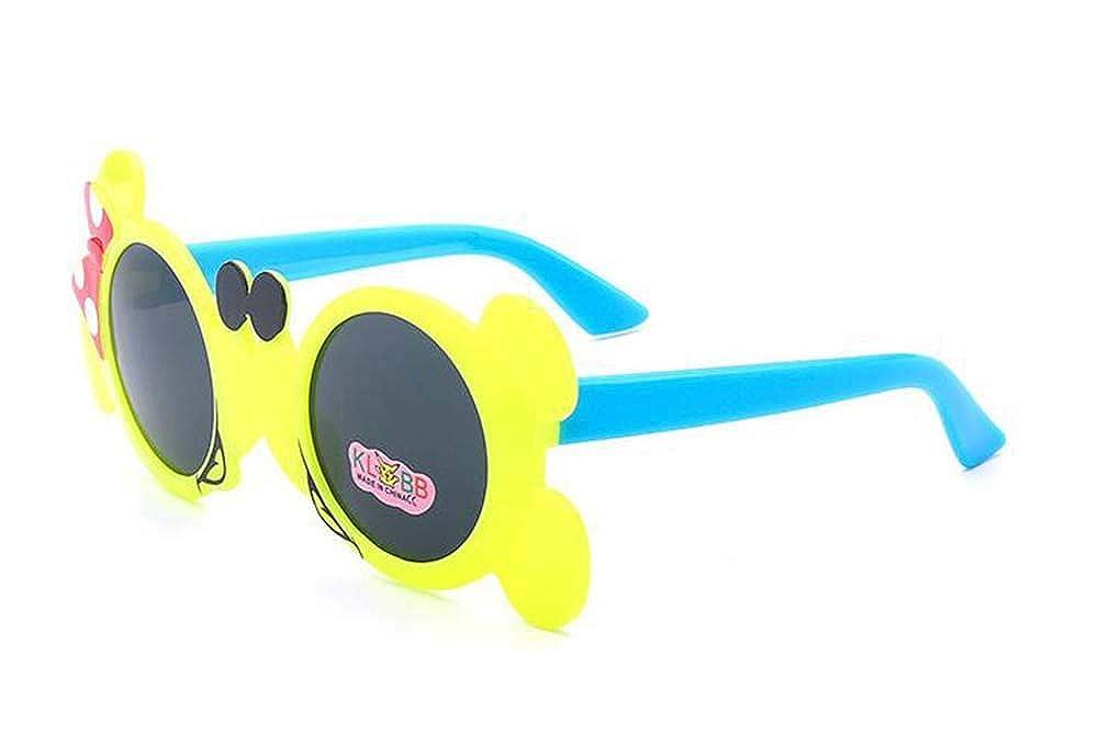 Occhiali Wor da sole polarizzati per bambini Occhiali Wor da minnie simpatici cartoni animati Sfumature flessibili per ragazze da 3 a 10 anni