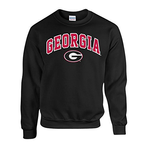 Georgia Bulldogs Crewneck Sweatshirt Black