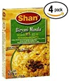 Shan, Mix Seasoning Biryani Masala, 1.75-Ounce (Pack of 4)