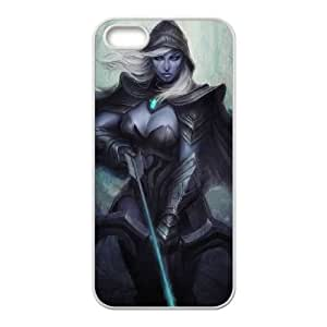 Dota 2 iPhone5s Cell Phone Case White Customized Toy pxf005_9673819