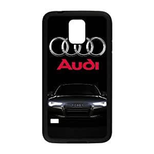 Samsung Galaxy S5 I9600 Cell Phone Case Black Audi Plastic Durable Cover Cases NYTY230227