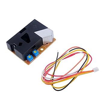 Amazon.com: dsm501 a módulo de sensor de polvo PM2.5 dector ...