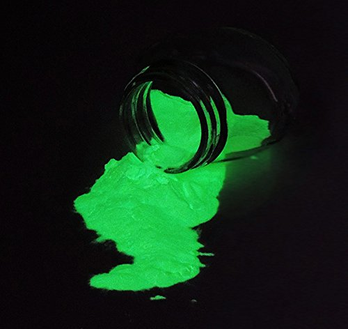 (Bright Green Glow-in-the-Dark Powder 75 gram ~ Pigment)