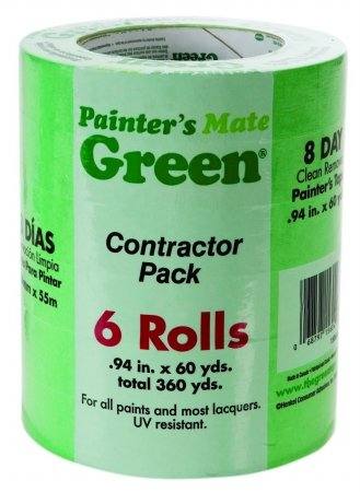 TAPE PAINTER MATE 94 6PK by PAINTER'S MATE GREEN MfrPartNo (Painters Mate Green)