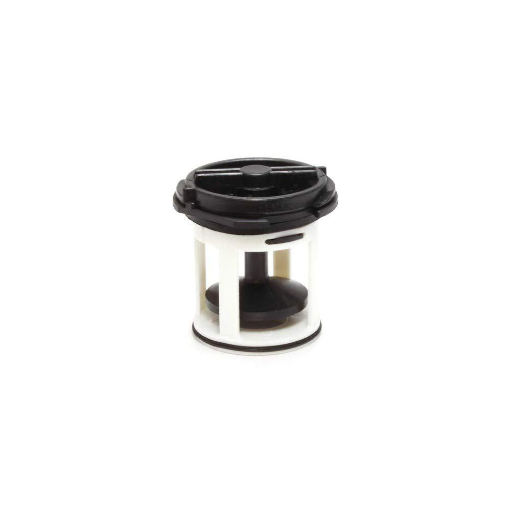 Filtro bomba desagüe agua lavadora Ignis Whirlpool tapón negro ...