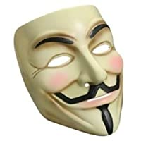 "Lot de 3 Masques de Guy Fawkes ""V pour Vendetta"""