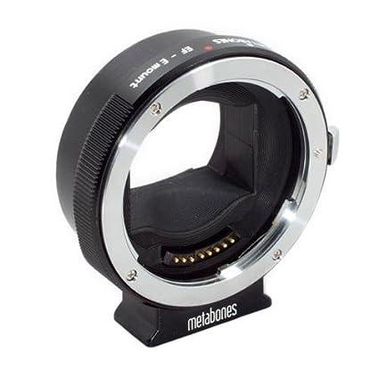 amazon com metabones canon ef lens to sony nex smart adapter mark rh amazon com