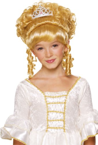 [Rubies Child's Charming Princess Blonde Costume Wig] (Toddler Renaissance Costumes)