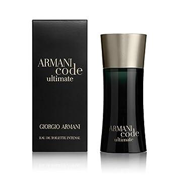 9b256a30e Giorgio Armani Code Ultimate Eau de Toilette Intense 50ml: Amazon.co ...