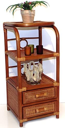 Handmade Bookcase Designer ECO Rattan Wicker