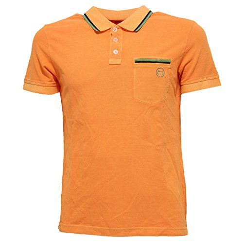 shirt Penn Arancione Polo T Uomo Maglia Woolrich Men rich 36847 R1g0wq