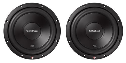 2 New ROCKFORD FOSGATE R2D2-10 1000W 10