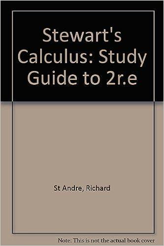 Stewart james calculus 5th edition abebooks.
