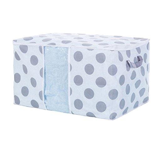 Quietcloud Foldable Quilt Storage Bag Clothes Blanket Closet