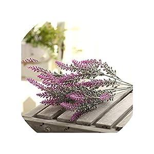 Decoration Lavender Flower Silk Artificial Flowers Grain Decorative Simulation of Aquatic Plants,3 29