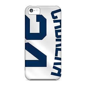 Shock Absorbent Hard Phone Case For Iphone 5c (tkL3138vemC) Custom Colorful Detroit Tigers Pattern