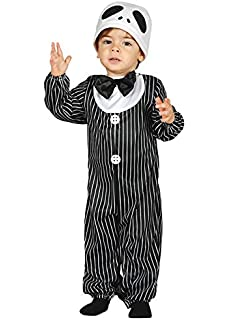 Magic Box Disfraz de bebé tamaño Halloween Jack Skellington Baby 6-12 Months
