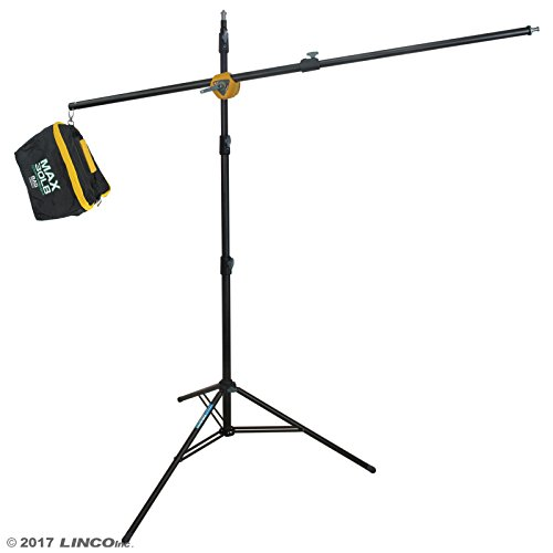 Linco Lincostore Photography Studio Boom Arm Stand 10 feet with Sandbag Heavy Duty For Video, Strobe Flash Light Use AM197 by Linco