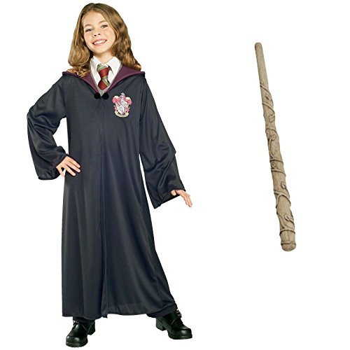Harry Potter Hermione Kit L Costume Bundle Set (Hermione Granger Halloween Outfits)