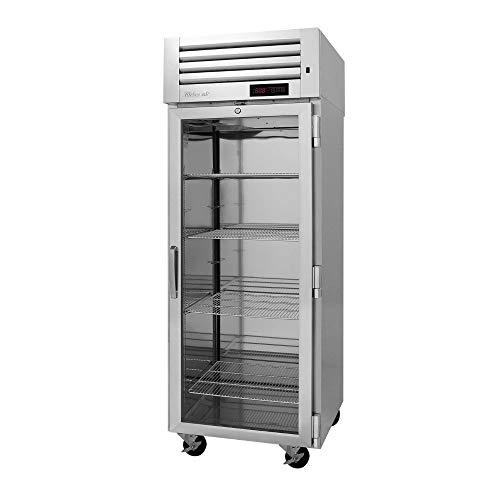 (Turbo Air PRO-26H2-G Pro Series Single Section Glass Door Heated Cabinet, 208V)