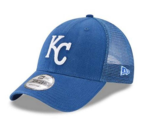 New Era MLB Kansas City Royals Trucker 9Forty Adjustable Baseball Hat 11591204 -