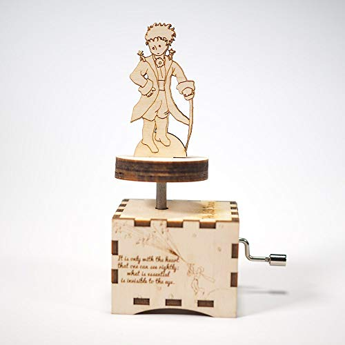 sic Box - Et maintenant - Laser cut and laser engraved wood music box. Perfect gift, memorabilia or collectible ()