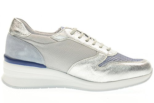 Cuneo Sneaker V17704 Con Valleverde Argento Pattini Argento 54qw6nBIx