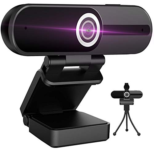 Webcam 4K HD Computer Camera 8MP Microphone PC Web Camera Full Widescreen Laptop USB Privacy shutter