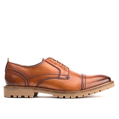 Base Shoes Leather Pike Mens Tan London xxgqvP