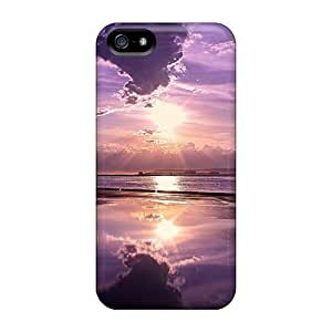 Protection Case For Iphone 5/5s / Case Cover For Iphone(imagine A Purple World)