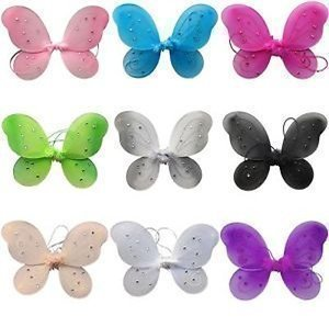 Lil' Princess Fairy & Butterfly Costume Wings-Party Assorted Wings (Fairy Costume Wings)