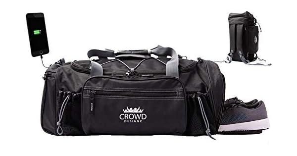 Amazon.com: Crowd Designz - Bolsa de gimnasio con ...