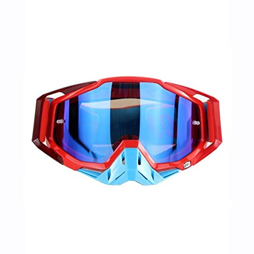 VDV Bicycle Accessories Unisex Cycling Motorcycle Eyewear New Antiskid Impact Resistant Skiing Goggles for Outdoor Crossing Country High End Ski Glasses Bicycle Accessories for Women-B (Batman Contact Lenses For Eyes)