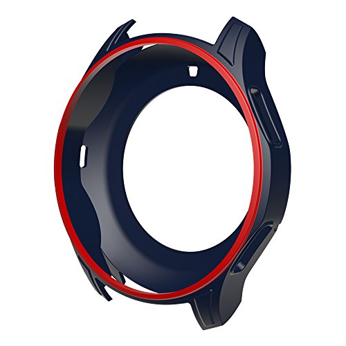 AWINNER Colorful Case for Gear S3 Frontier SM-R760,Shock-Proof and Shatter-Resistant Protective iwatch Silicone Case for Samsung Gear S3 Frontier SM-R760 Smartwatch (12-Colour) by AWINNER (Image #8)