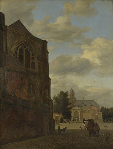 [Perfect Effect Canvas ,the High Resolution Art Decorative Canvas Prints Of Oil Painting 'Jan Van Der Heyden An Imaginary View Of Nijenrode Castle ', 8 X 11 Inch / 20 X 27 Cm Is Best For Study Artwork And Home Decoration And] (Jessica Rabbit Costumes Ideas)
