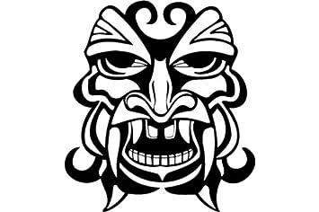 Mascara de ojos negros , la antigua etiqueta mascaras - 50cm Altura - 50cm Ancho -