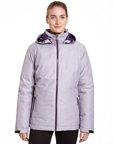 Microfleece Jacket Liner - Champion Women`s Technical Heather 3-in-1 Jacket With Microfleece Liner, CH3002