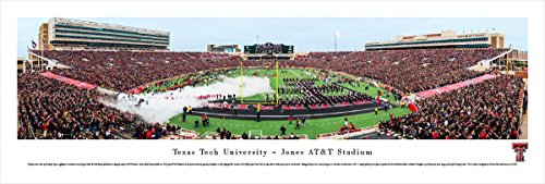 Texas Tech Football - Blakeway Panoramas Unframed College Sports Posters