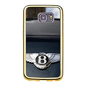 Bentley Pattern Cover Shell for Samsung Galaxy S6 Edge Classical Popular Luxury Brand Bentley Logo Phone Case