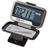 Ekho Pedometer - Deluxe - Steps, Distance, Calories And Activity Time - Case Of 25 - 12-1942-25