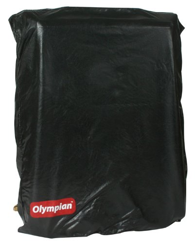 Camco Olympian Wave Heater 6 Dust Cover  - Helps Keep Dust and Debris Off of The Catalytic Heating Pad |Custom Fitted  Wall Mounted Style Cover | Easy Use and Maintenance - (57713)