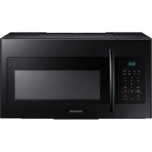 Samsung ME16H702SEB 1.6 Cu. Ft. 1000W Over-the-Range Microwave, Black ()